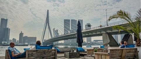 Prachtig Rotterdam terras