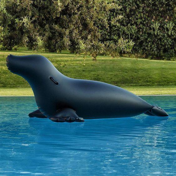 opblaas zeehond