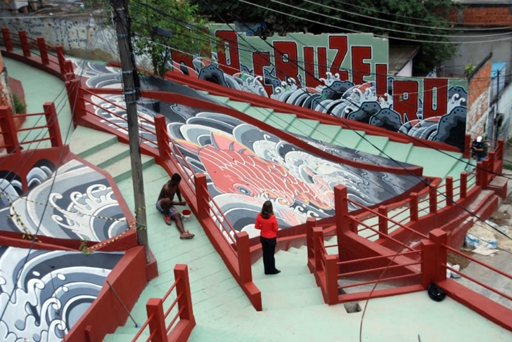 Favela Painting Brasil