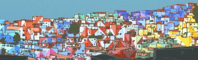 Favela Painting scratch