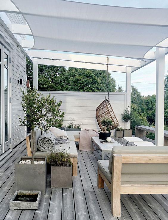 Bekend Ideeën voor het inrichten van je veranda | Nofruit @FQ09