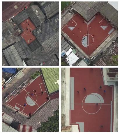 unieke voetbalveldjes