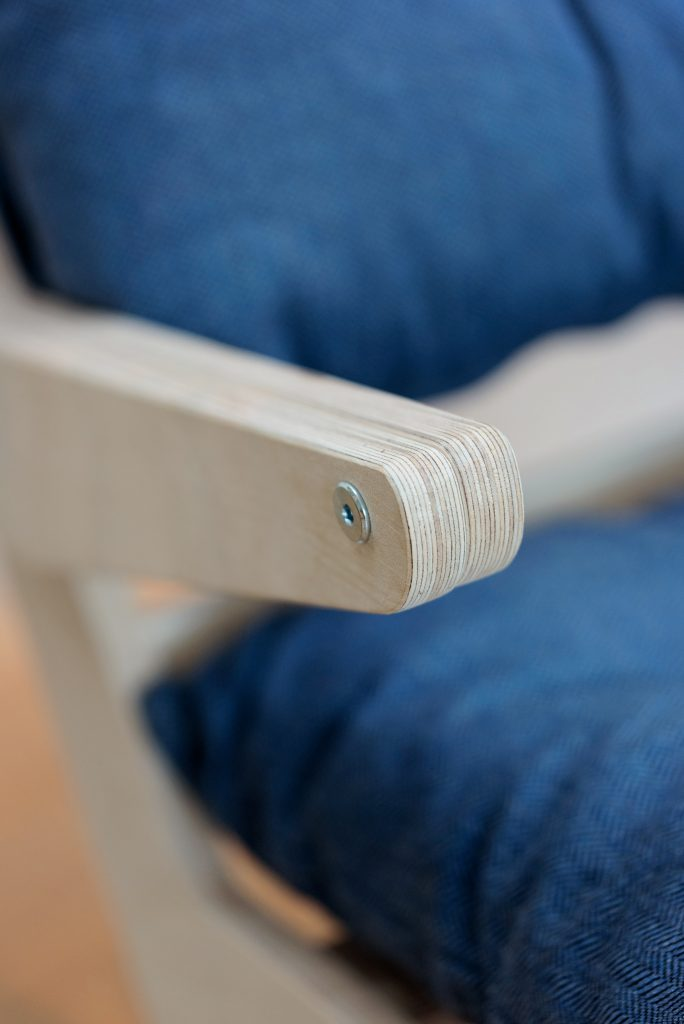 nofruit stoel hout