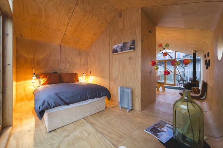 Wikkelhouse slaapkamer
