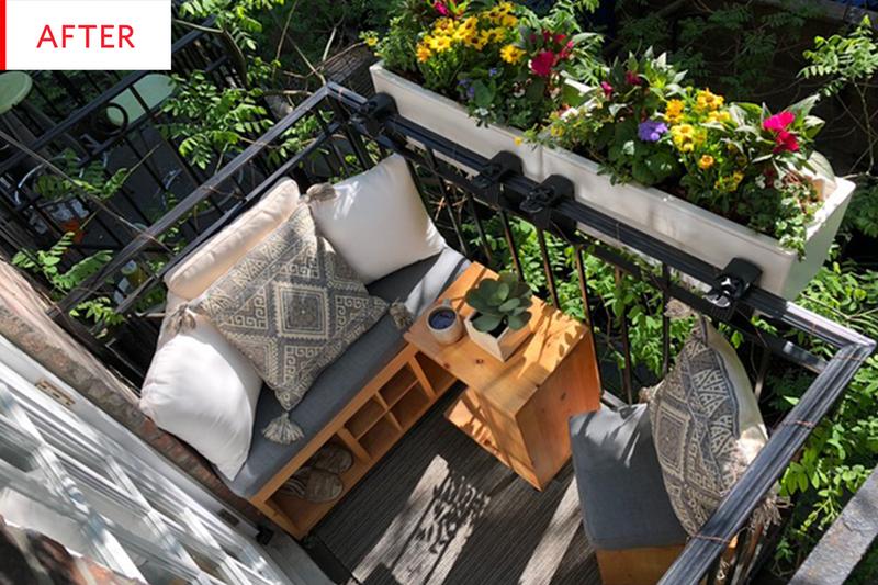 styling balkon
