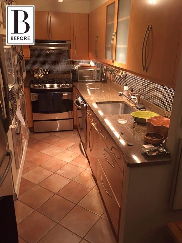 oude keuken opknappen
